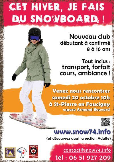 Affiche Snowclub